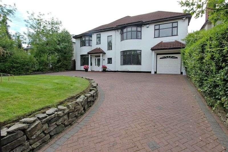 4 Bedrooms Detached House for sale in Sheepfoot Lane, Prestwich, Manchester