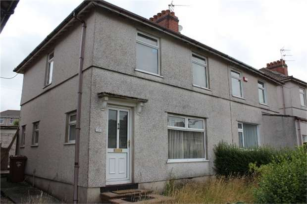 3 Bedrooms Semi Detached House for sale in Penrhiw Avenue, Oakdale, Blackwood, Caerphilly