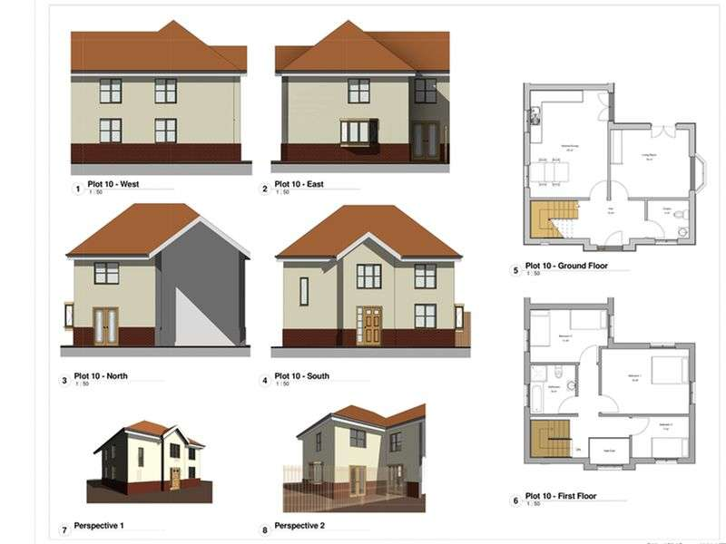 Land Commercial for sale in Development opportunity to build out 10 houses consisting 2, 3 & 4 bedroomed properties. Outline planning has been granted under ref:12/01135/OUT how