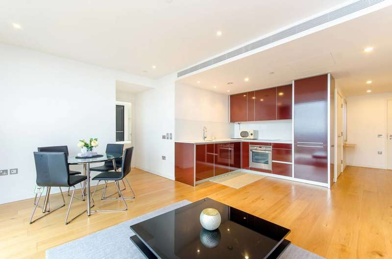 2 Bedrooms Flat for sale in The Strata, Elephant and Castle, SE1
