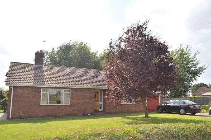 3 Bedrooms Detached Bungalow for sale in Westend, Garthorpe, Scunthorpe