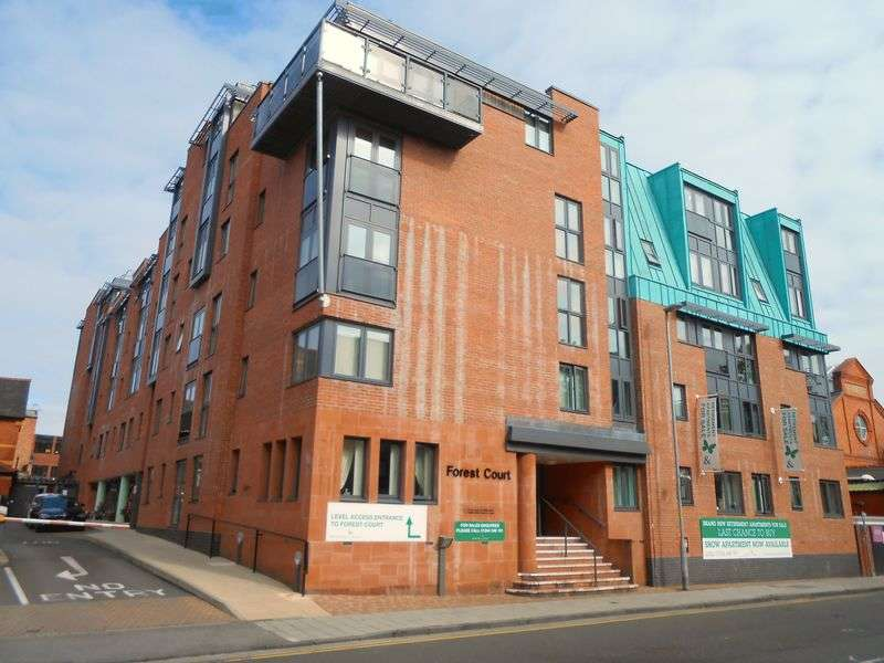 2 Bedrooms Flat for sale in Forest Court Union Street Chester