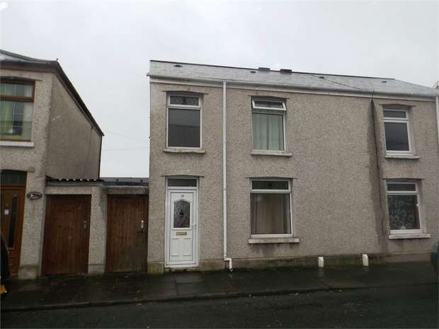 3 Bedrooms Semi Detached House for sale in Hopkin Street, Aberavon, Port Talbot, West Glamorgan