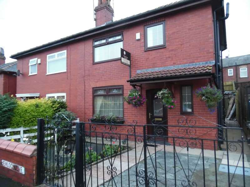 3 Bedrooms Semi Detached House for sale in Hemlock Avenue, Oldham