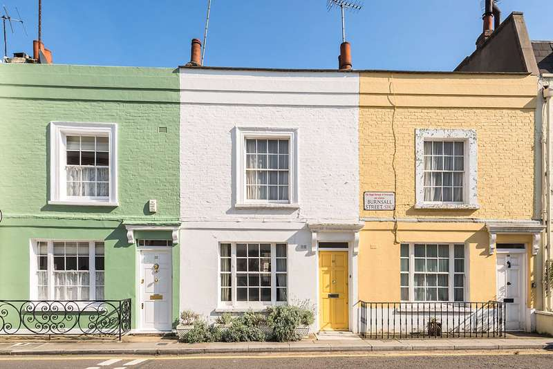 2 Bedrooms Terraced House for sale in Burnsall Street, London, SW3