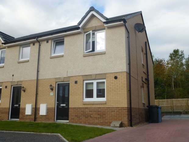 3 Bedrooms Semi Detached House for sale in Cambridge Crescent, Wallace Grove, Clarkston , Airdrie, ML6