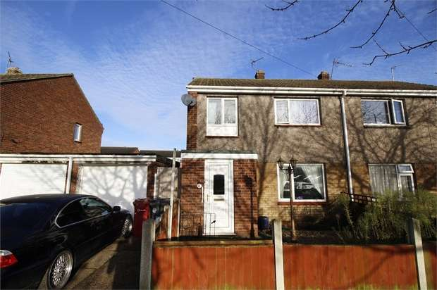 3 Bedrooms Semi Detached House for sale in Teanby Drive, Winterton, Scunthorpe, Lincolnshire