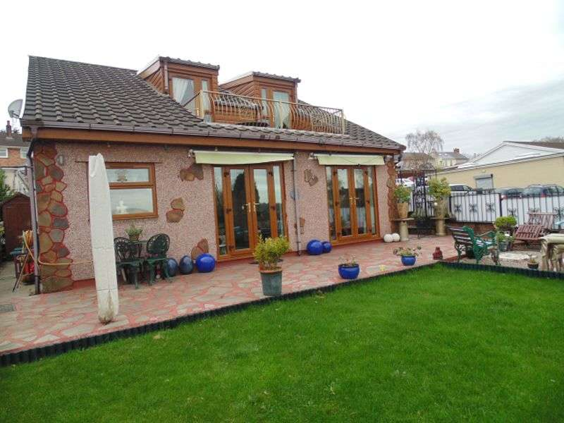 5 Bedrooms Detached Bungalow for sale in Mount Pleasant Road, Pontnewydd, Cwmbran