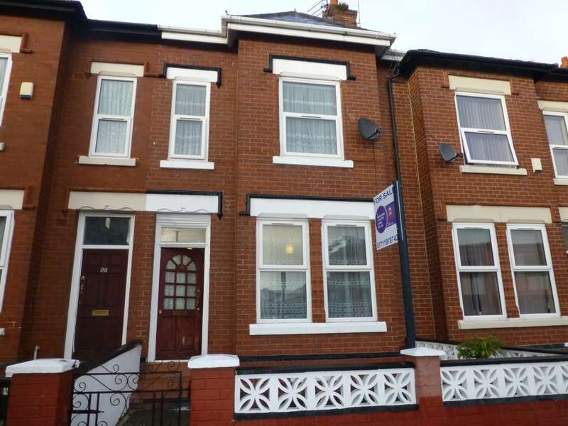 4 Bedrooms Terraced House for sale in Ayres Road, Manchester, Lancashire, M16