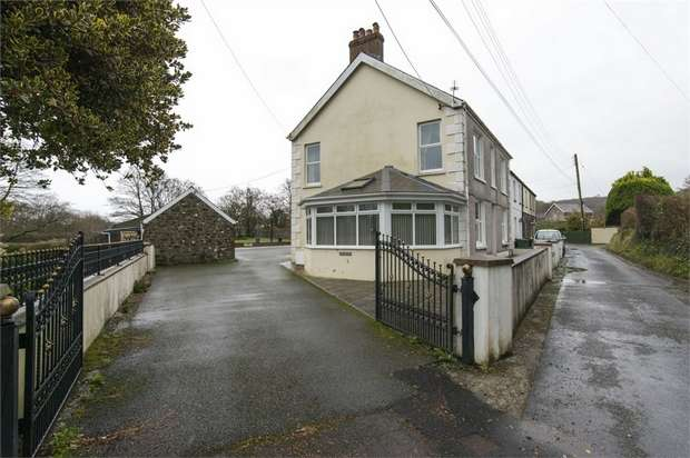 4 Bedrooms End Of Terrace House for sale in Ynys Glantaf, Trevaughan, Whitland, Carmarthenshire