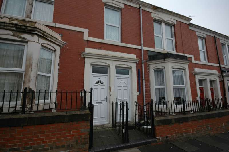 2 Bedrooms Flat for sale in Hampstead Road, Newcastle upon Tyne, Northumberland, NE4