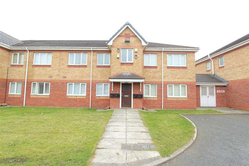 2 Bedrooms Apartment Flat for sale in Larchtree Mews, West Derby, Liverpool
