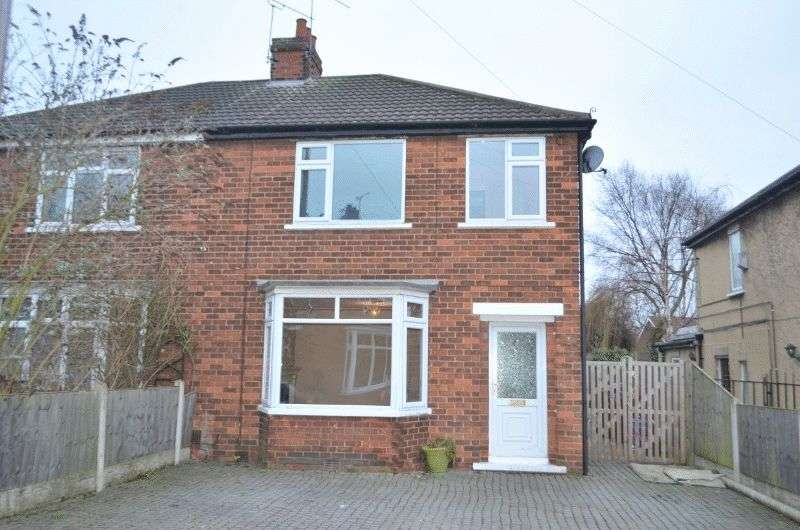 3 Bedrooms Semi Detached House for sale in Priory Crescent, Ashby, Scunthorpe