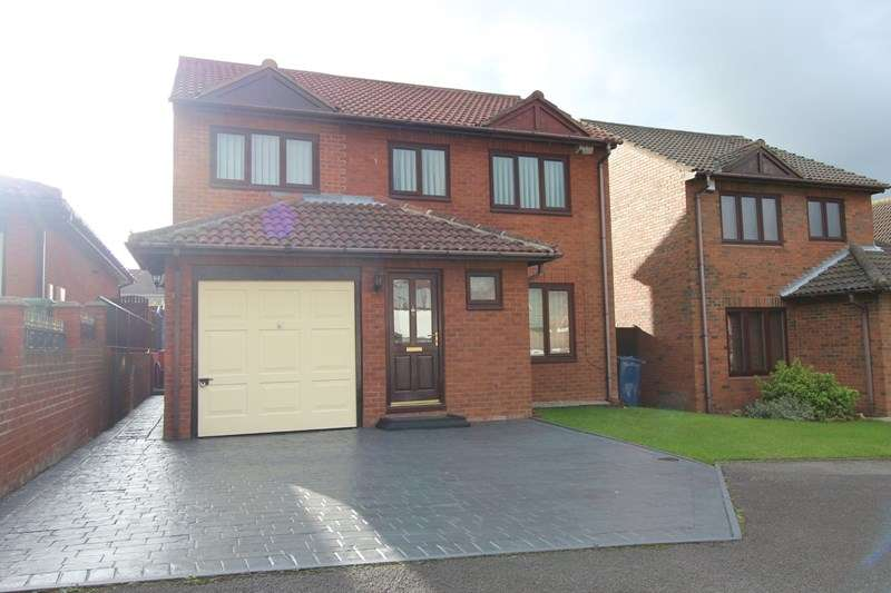 4 Bedrooms Detached House for sale in Lydford Court, Houghton le Spring