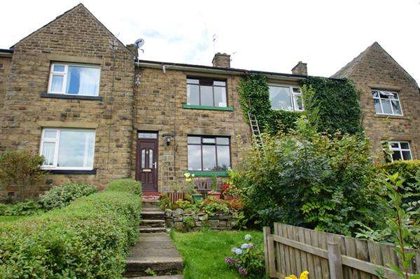 2 Bedrooms Terraced House for sale in Bankside Ave, Uppermill