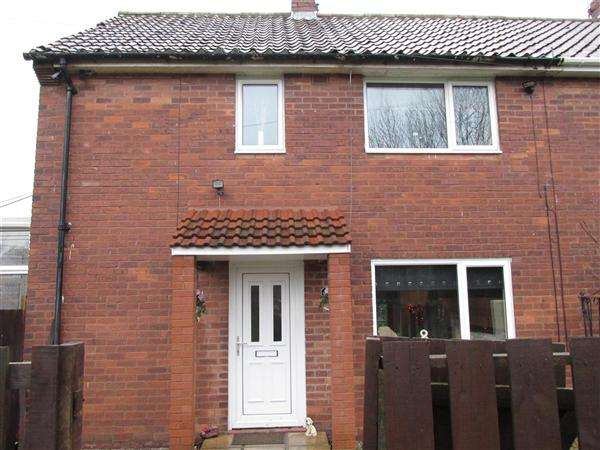 2 Bedrooms Semi Detached House for sale in Burwell Avenue, Newcastle upon Tyne