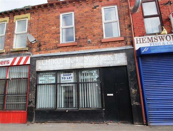 2 Bedrooms Commercial Property for sale in Market Street, Hemsworth