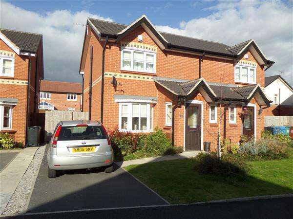 3 Bedrooms Semi Detached House for sale in Easdale Road, Manchester
