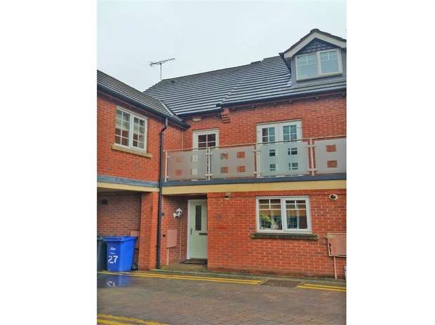 4 Bedrooms Detached House for sale in Wyllie Mews, Burton-on-Trent, Staffordshire
