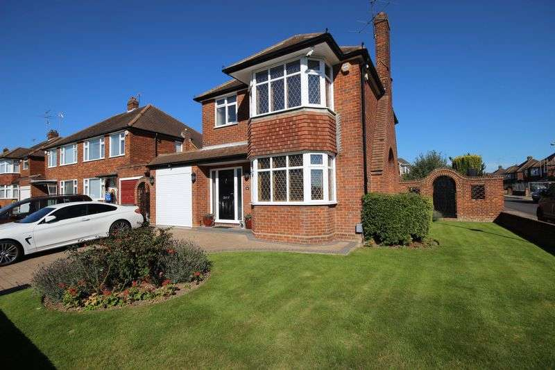 3 Bedrooms Detached House for sale in Sherborne Avenue, Luton