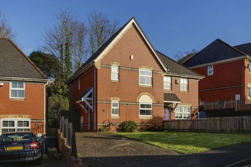 3 Bedrooms Semi Detached House for sale in Stow Park Drive, Newport