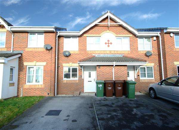 2 Bedrooms Terraced House for sale in Hebble Oval, South Elmsall