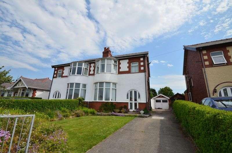 3 Bedrooms Semi Detached House for sale in 280 Blackpool Road, Poulton-Le-Fylde Lancs FY6 7QU