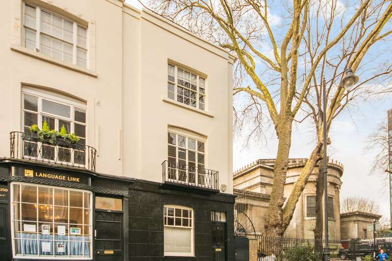 3 Bedrooms End Of Terrace House for sale in Duke's Road, Bloomsbury, WC1H