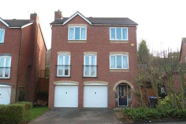 4 Bedrooms Detached House for sale in Cheddleton Park Avenue, Cheddleton, Staffordshire, ST13 7NS