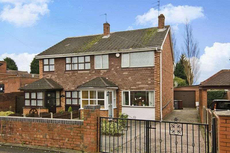 3 Bedrooms Semi Detached House for sale in Lichfield Road, Wednesfield