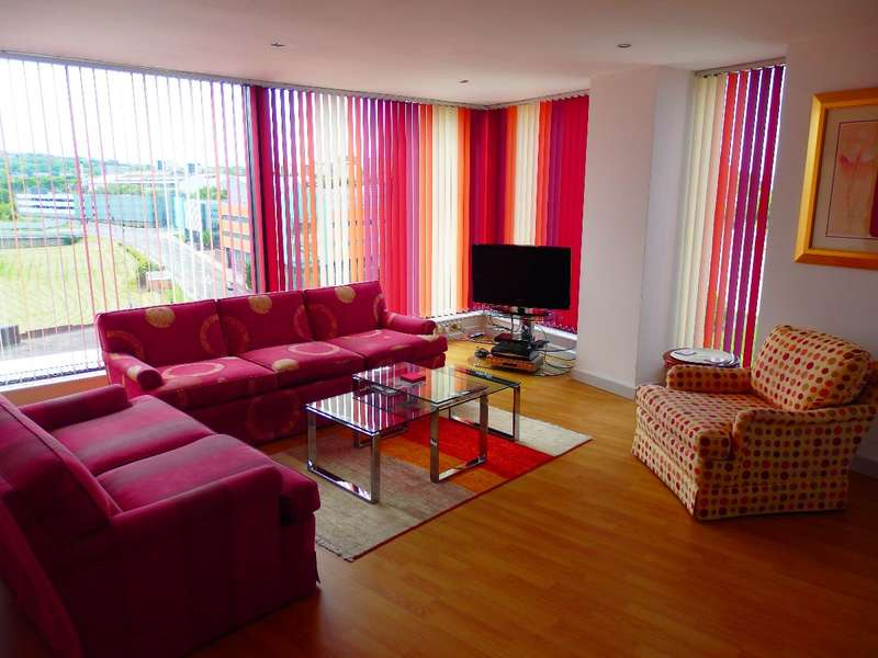 3 Bedrooms Apartment Flat for rent in Gateshead Quayside, Baltic Quay