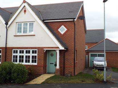 3 Bedrooms Semi Detached House for sale in Catherall Avenue, Buckley, Flintshire, CH7
