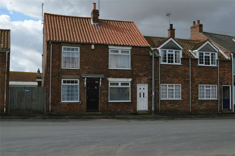 2 Bedrooms Terraced House for sale in Church Street, Aldbrough, East Riding of Yorkshire