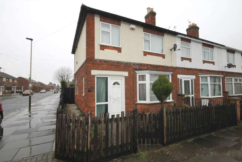 3 Bedrooms End Of Terrace House for sale in St Andrews Road, Aylestone