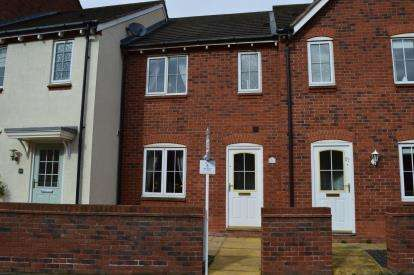 3 Bedrooms Terraced House for sale in Williams Avenue, Fradley, Lichfield, Staffordshire