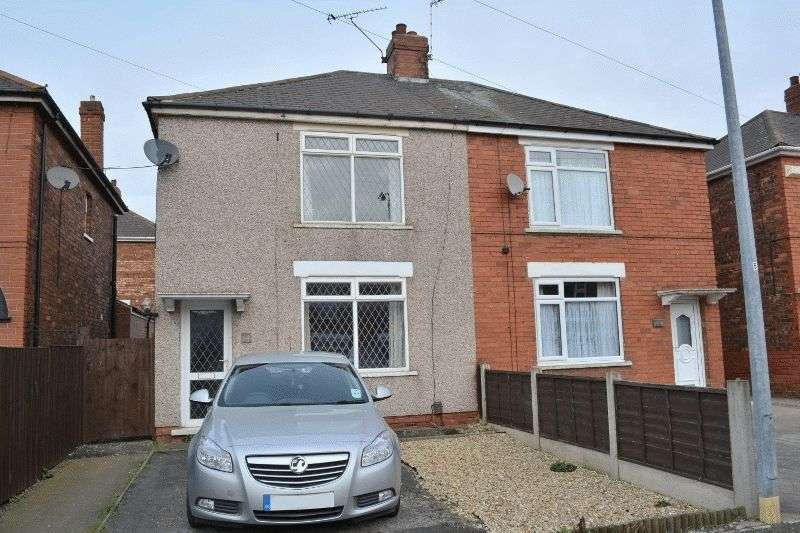 2 Bedrooms Semi Detached House for sale in Churchfield Road, Ashby, Scunthorpe