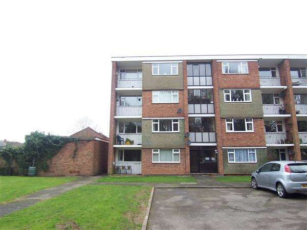 2 Bedrooms Apartment Flat for sale in Hearsall Court, Whoberley, Coventry