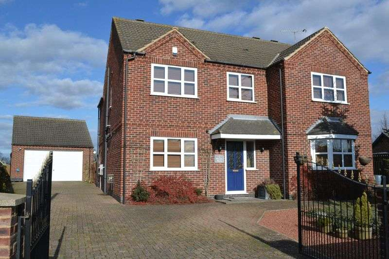 4 Bedrooms Detached House for sale in High Street, Corringham, DN21 5QN