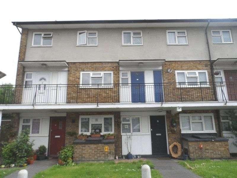 2 Bedrooms Flat for sale in Roden Gardens CROYDON Surrey