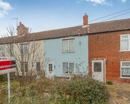 2 Bedrooms Terraced House for sale in North Row, Main Road, New Bolingbroke, Boston
