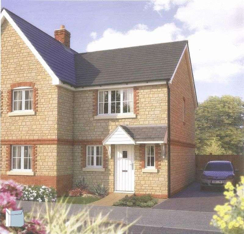 2 Bedrooms Semi Detached House for sale in BRAND NEW 2, 3, 4 & 5 Bedroom Homes at Bramble Chase, Honeybourne, Worcestershire, WR11 7XR