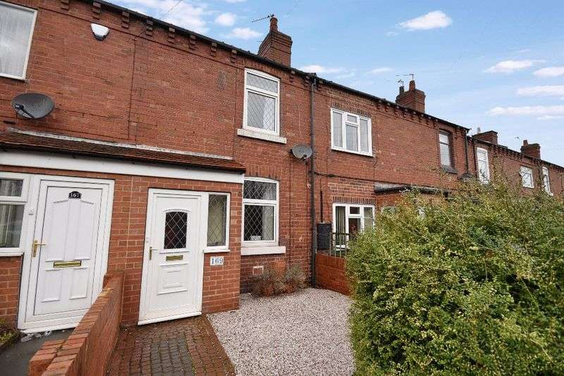 2 Bedrooms Terraced House for sale in Weeland Road, Sharlston Common