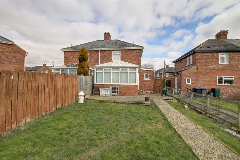 2 Bedrooms Semi Detached House for sale in Grange Crescent, Coxhoe, Durham, DH6