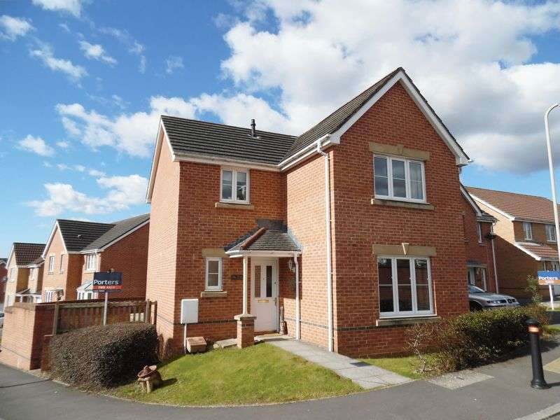 4 Bedrooms Detached House for sale in Llwyn Castan Broadlands Bridgend CF31 5FG