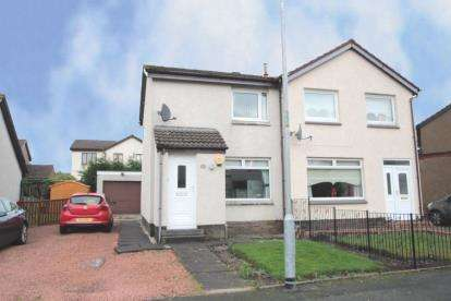 2 Bedrooms Semi Detached House for sale in Mossbank Crescent, Newarthill, North Lanarkshire