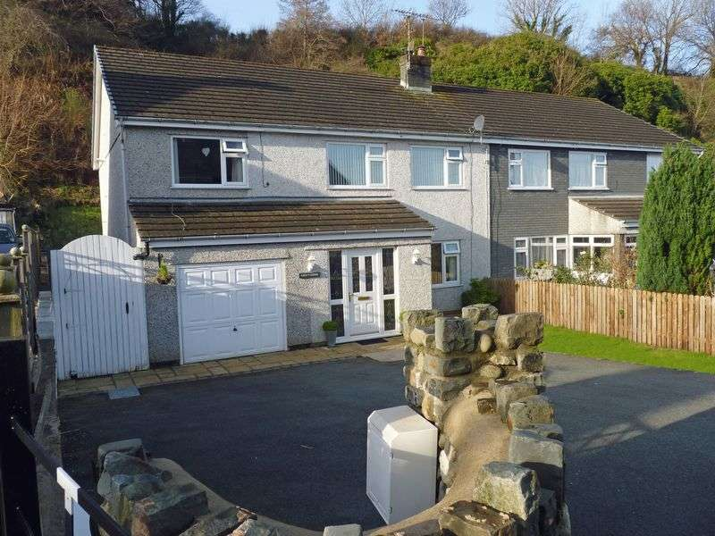 4 Bedrooms Semi Detached House for sale in Nant Y Felin Road, Llanfairfechan