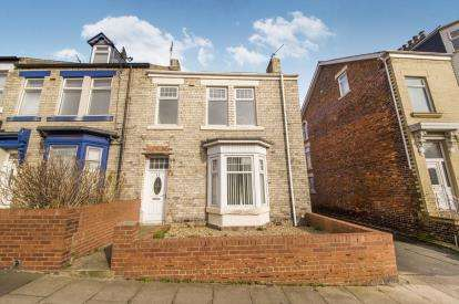 2 Bedrooms End Of Terrace House for sale in Baring Street, Lawe Top, South Shields, Tyne and Wear, NE33