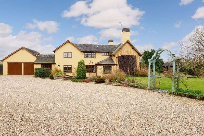 4 Bedrooms Detached House for sale in Marsh Lane, Sheriffhales, Nr Shifnal, Shropshire.