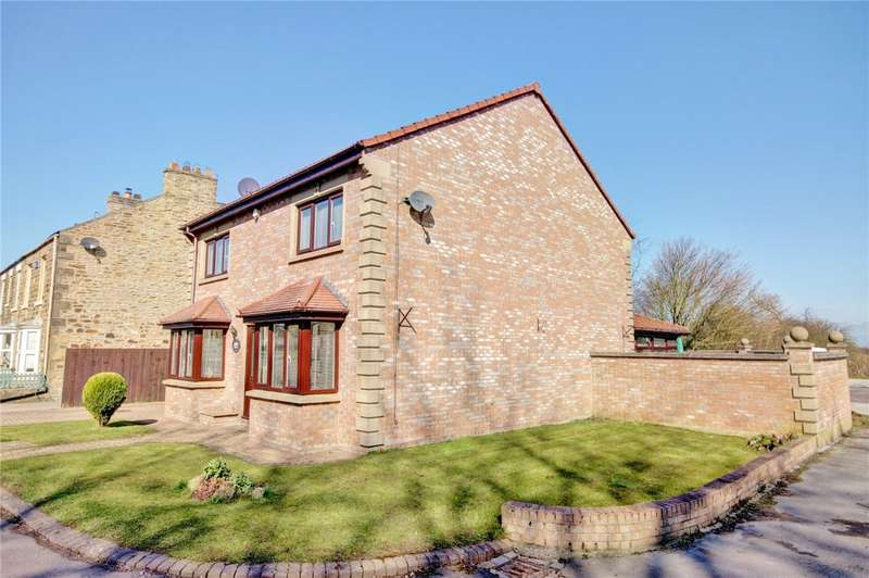 4 Bedrooms Detached House for sale in Tudhoe Village, Durham, DL16