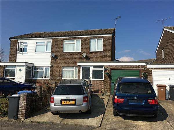 4 Bedrooms Semi Detached House for sale in Sandown Road, Ipswich
